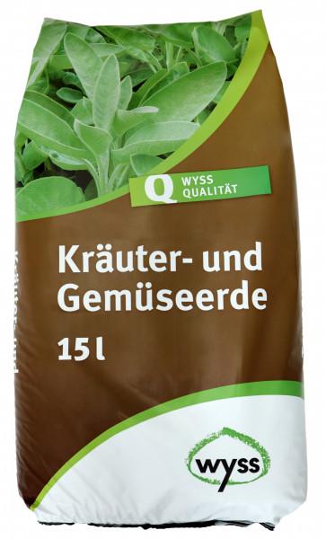 Wyss BIO Kräuter- und Gemüseerde