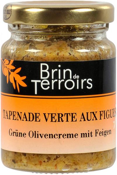 Grüne Olivencreme mit Feigen