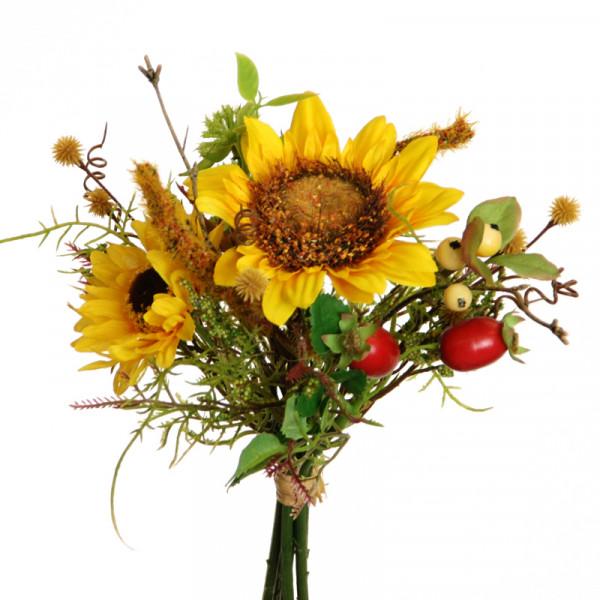 Floratexx Sonnenblumen-Hagebutten-Bund