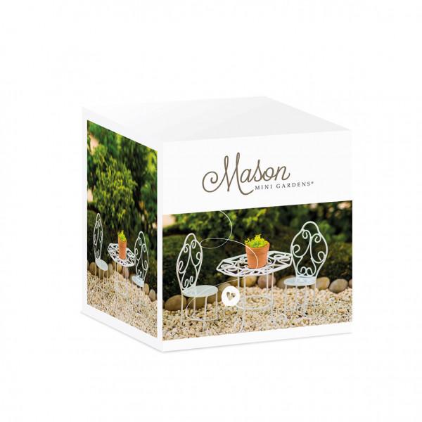 Mason Mini Garden Bistro set Romantic