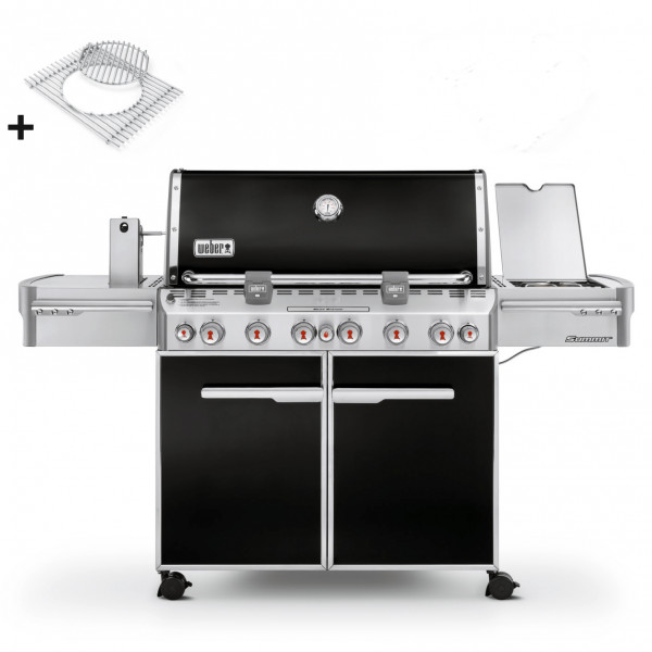 Weber Summit E-670 GBS, black