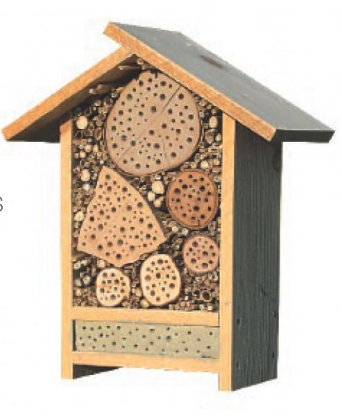 Wildbienenhaus extra gross