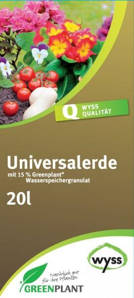 Wyss Universalerde mit Greenplant