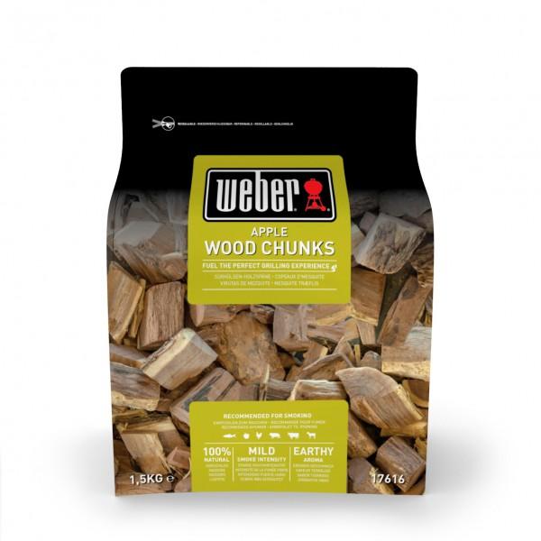 Weber Wood Chunks Apfelholz