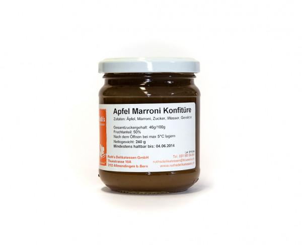 Apfel Marroni Konfitüre