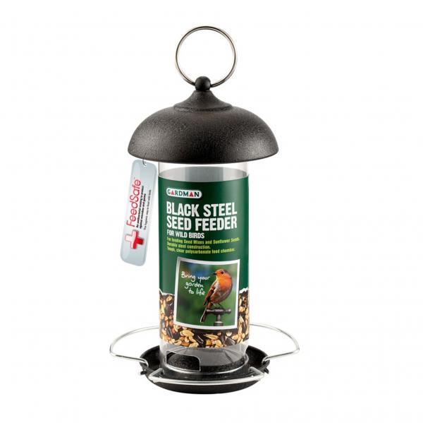 Black Steel Seed Feeder