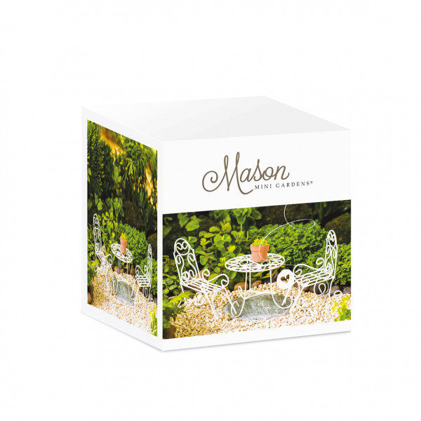 Mason Mini Garden Bistro set Tea Time