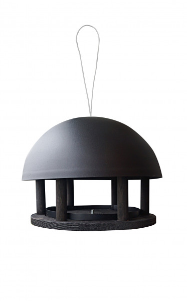 Futterhaus 'Dome Black Hanging'